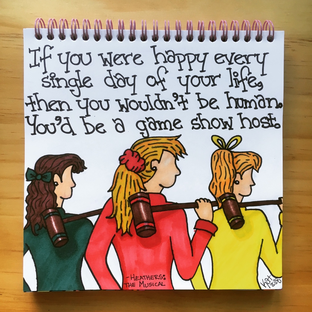 Day 182: Heathers Quote – An Antisocial Artist